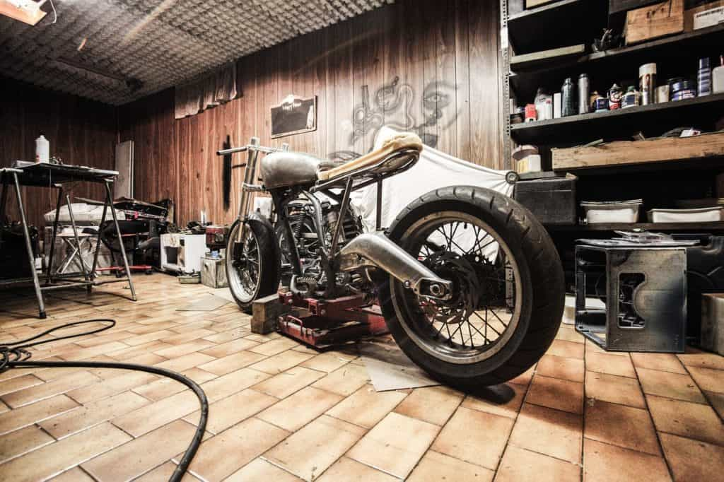 The best man cave decoration for motorcycle lovers.