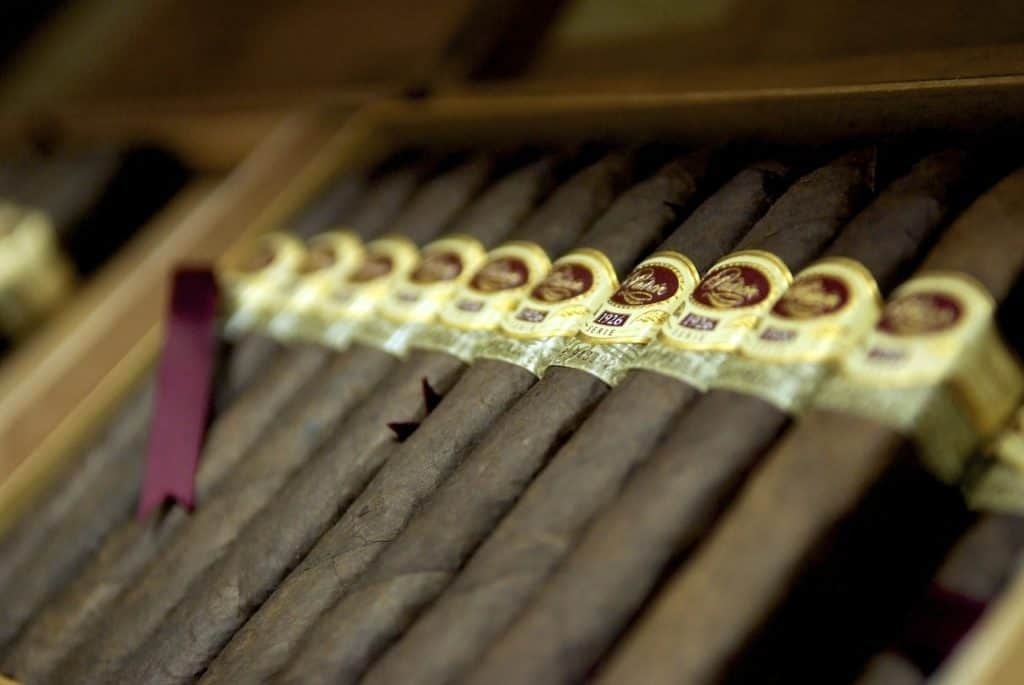 A small humidor is a nice addition to your man cave and doesn't take up much space.