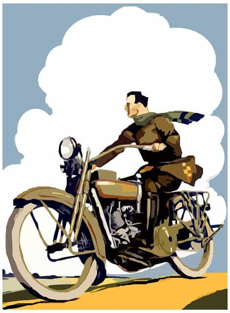 Retro posters for motorcycle lovers