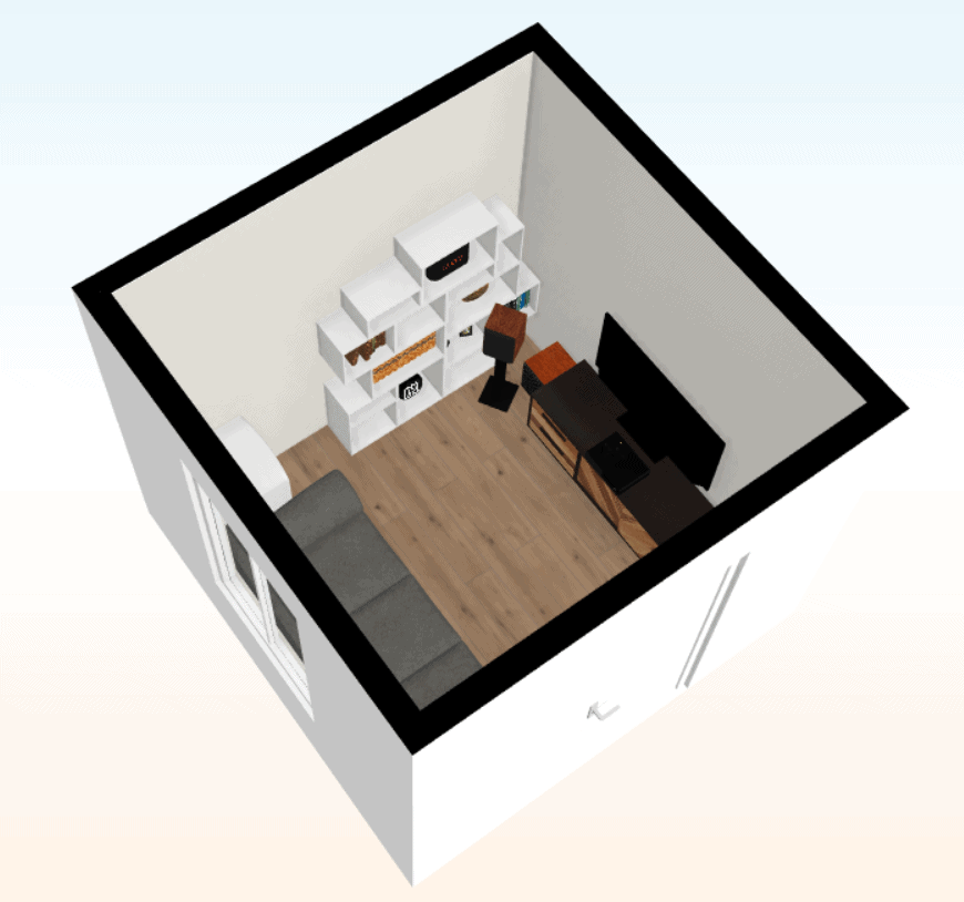 Small Gamer Man Cave Floor Plans [Free]