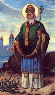 St. Patrick is probably the most famous Irish person in history.